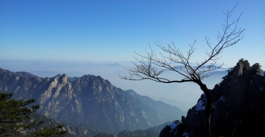 New Year's Workshop in Huangshan, China