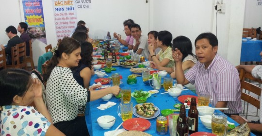 Get-together for HoChiMinh office in 12th Feb, 2014
