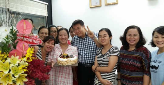 Happy Birthday Party For Boss